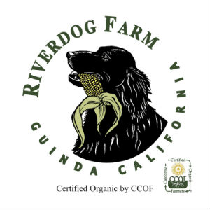 Logo for RiverDog Farm