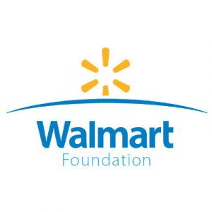 Logo for the Walmart Foundation
